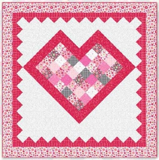 Big Hearted quilt fp at Riley Blake Designs