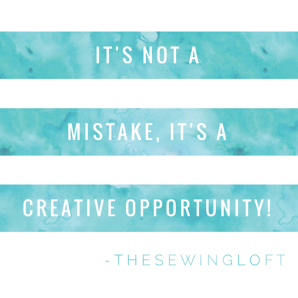 Sewing Motto from Heather of The Sewing Loft
