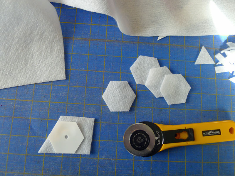 No-Sew Hexies with Smooth™ Fusible Fleece - Fairfield World
