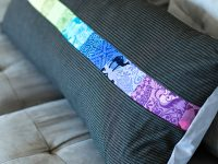 1 mini charm pillow Valori Wells fabric bench pillow