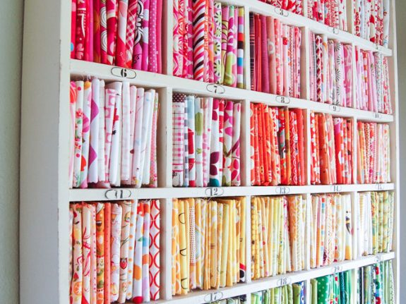 fat quarter storage ideas