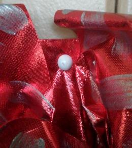 Valentine's Day Ruffled OlyFun Heart Wreath 7