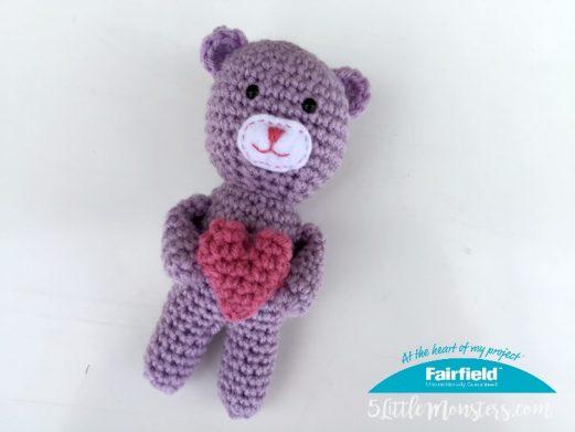 Tiny Heart Teddy Bear