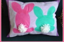 oly*fun™ Backward Bunny Pillow