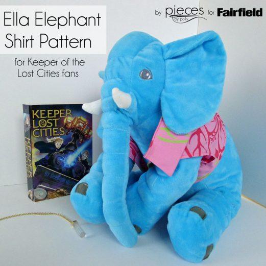 Ella Elephant Shirt Pattern - KOTLC