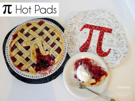 Geeky Pi (Pie) Hot Pad