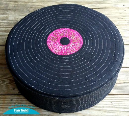 Cool Cat Record Tuffet