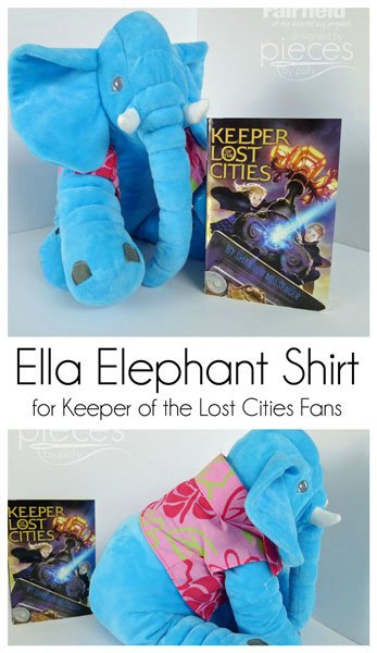 0036a364a Make an easy Ella Elephant Shirt with Fairfield s Structure Fusible  Interfacing
