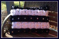 Origami Folded Ribbon Pillow