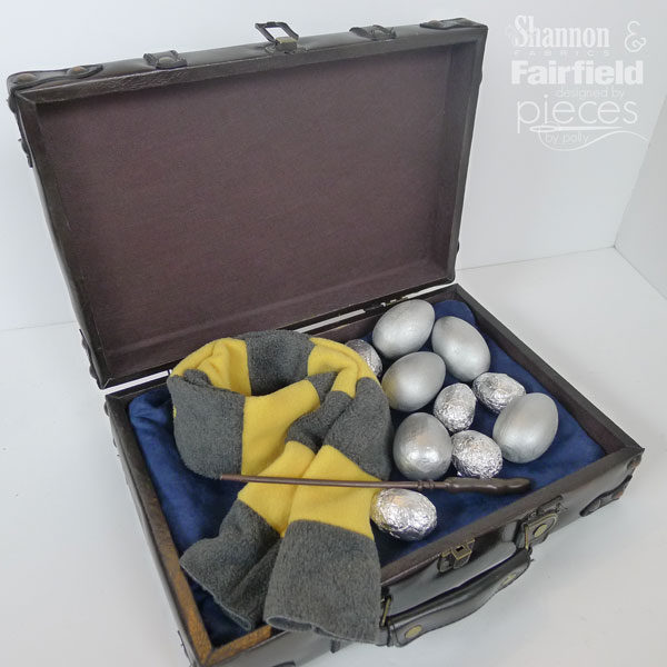 Make a Newt Scamander Easter Basket inspired by Fantastic Beasts