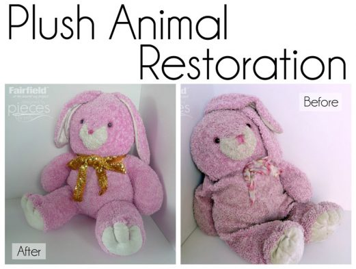 Plush Animal Restoration Tips