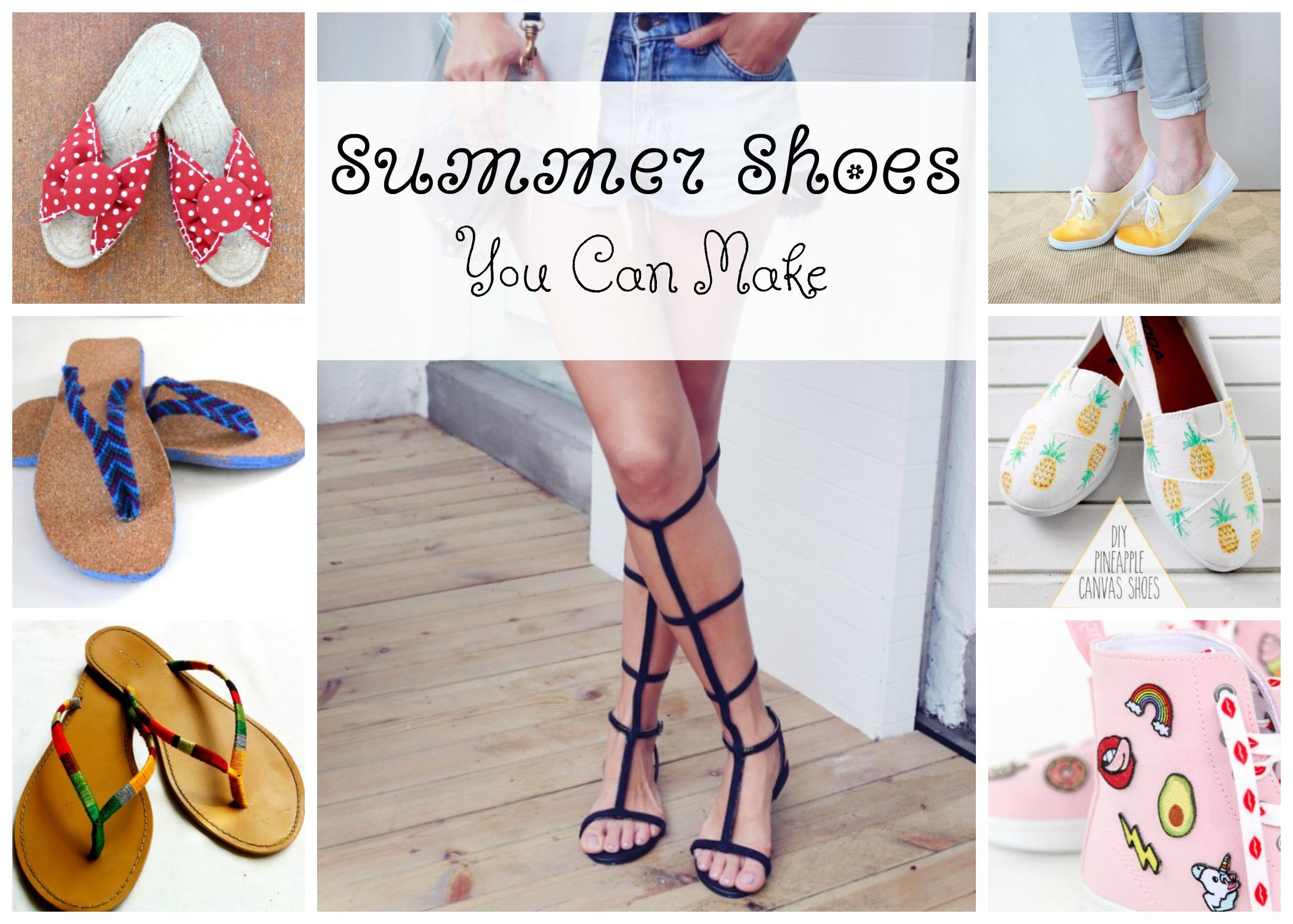 c429e36e877 Summer Shoes That You Can Make - Fairfield World Blog