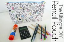 The Ultimate DIY Pencil Pouch