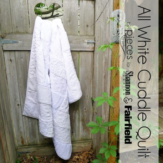 All White Quilt - Cuddle in a Day
