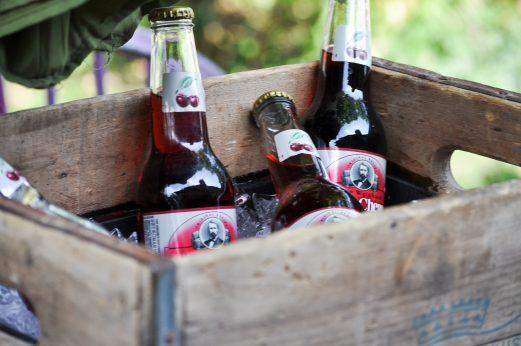 DIY Antique Crate Drink Cooler