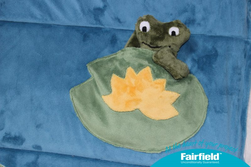 Freddie's Lily Pond Home is a Nap Mat Pocket