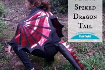 METALLIC OLYFUN SPIKED DRAGON TAIL