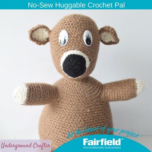 No-Sew Huggable Crochet Pal