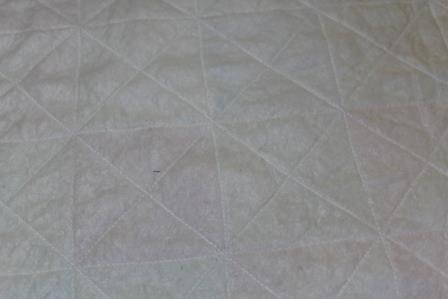 Faux Quilted Pillow