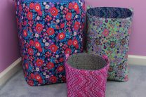 Storage Bins from Amy Butler and Fairfield