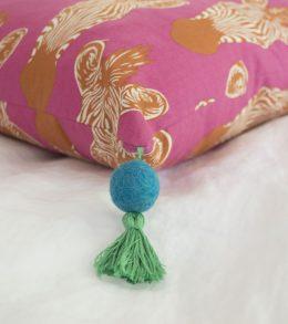 Bohemian Tassel Pillow A Happy Stitch 18