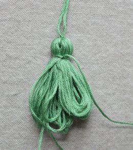 Bohemian Tassel Pillow A Happy Stitch 4