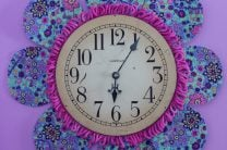 DIY Flower Petal Clock