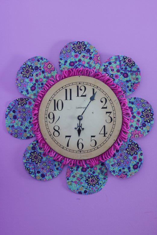 Pretty Petals - DIY Wall Clock