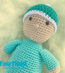 Crochet Baby Doll With Hat