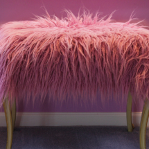 Furry Bench