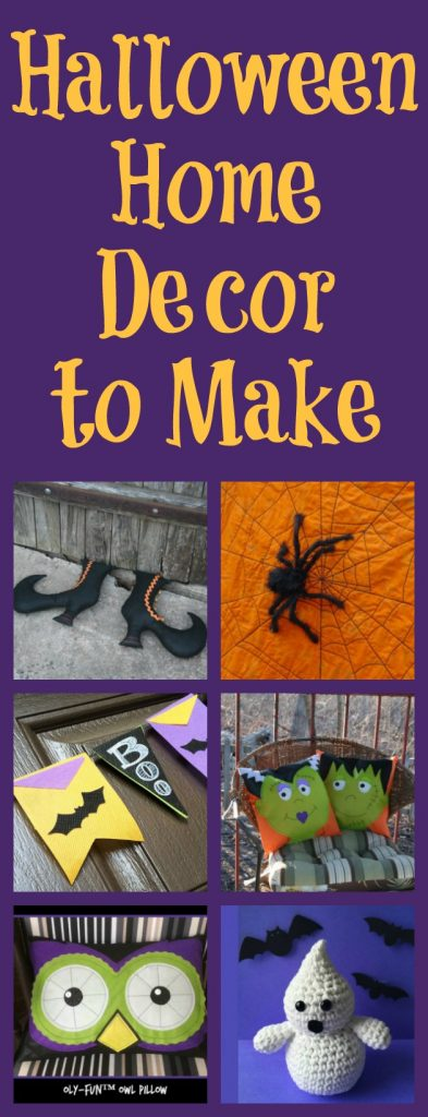 Halloween home decor that you can make fairfield world blog for Halloween decorations you can make at home