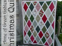 Anne of Green Gables Christmas Quilt - Free Pattern