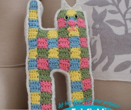 Crochet Patchwork Cat