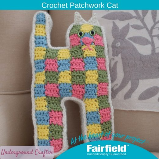 Crochet Patchwork Cat