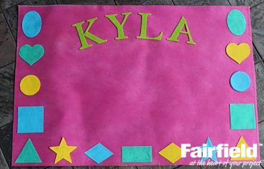Kids Oly-Fun™ Learning Placemat