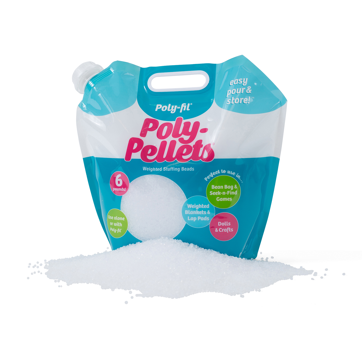 Poly-Pellets 6 Pound Bag