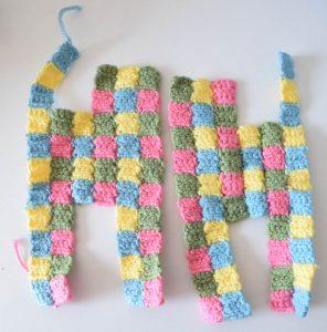 Crochet Patchwork Cat, free pattern by Underground Crafter