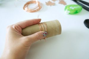 Step 1 - DIY Fairfield Oly*Fun Napkin Rings