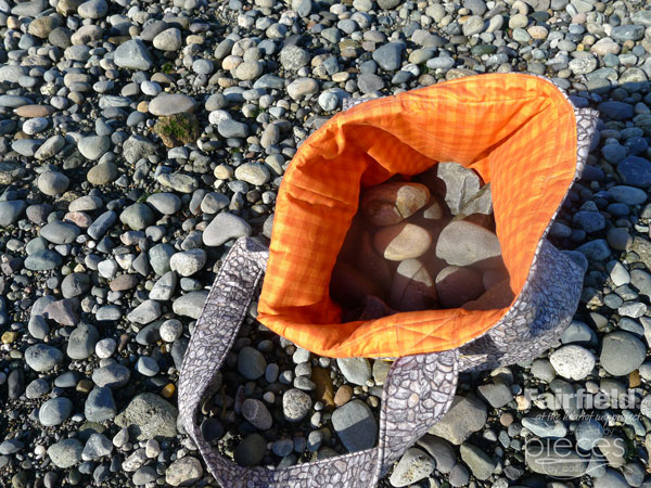 DIY Kindness Rocks Reinforced Tote Bag Carry-All