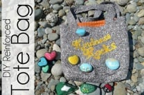 Kindness Rocks Reinforced Tote Bag