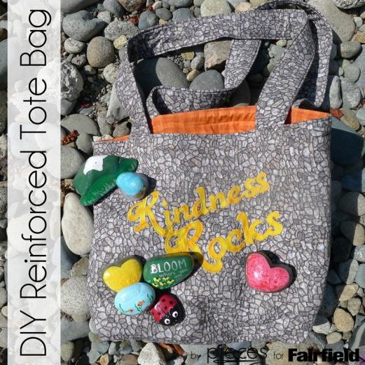 Kindness Rocks Reinforced Tote Bag