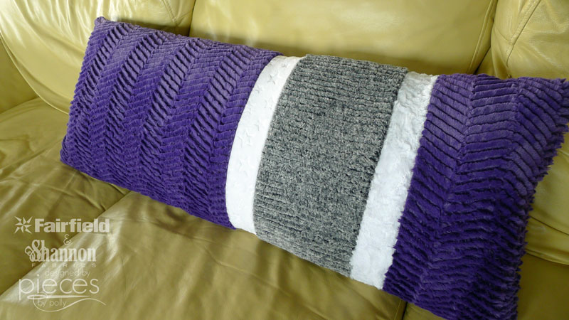 Asymmetrical Body Pillow With Cuddle 174 Fabric
