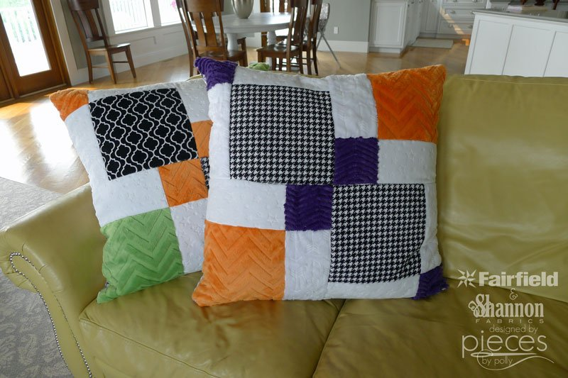 Disappearing Nine Patch Throw Pillow
