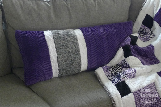 Asymmetrical Body Pillow with Cuddle® Fabric