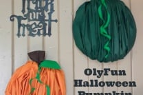 OlyFun Halloween Pumpkin Wall Art