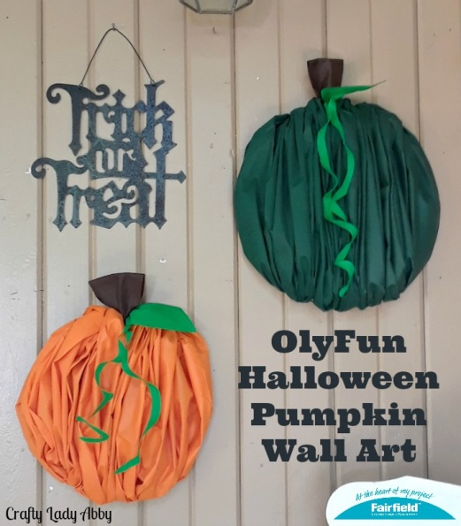 OlyFun Halloween Pumpkin Wall Art
