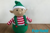 Crochete Christmas Elf