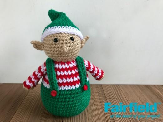 Crocheted Christmas Elf
