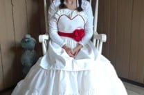 Annabelle Doll Sweetheart Apron Halloween Costume