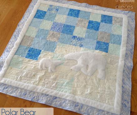 Polar Bear Baby Quilt
